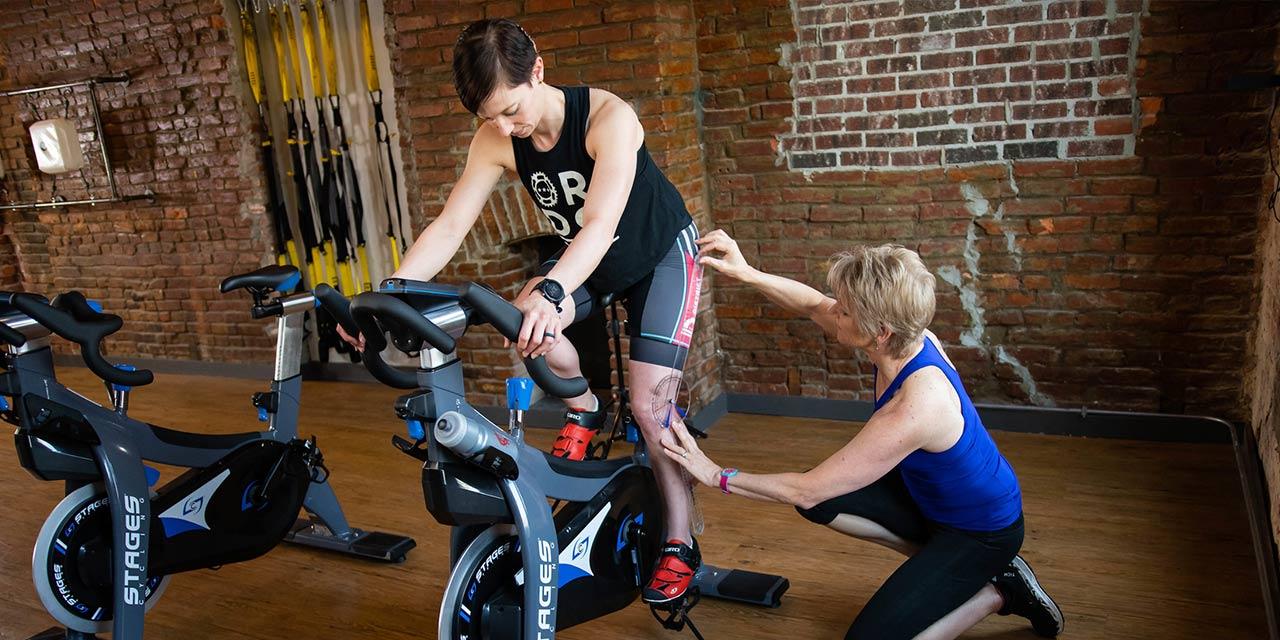 Jennifer Sage bike set up