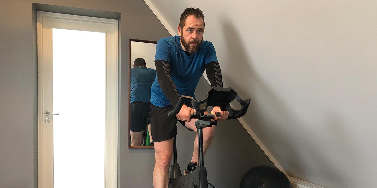 esben algaard anderson on indoor cycle weight gain weight loss