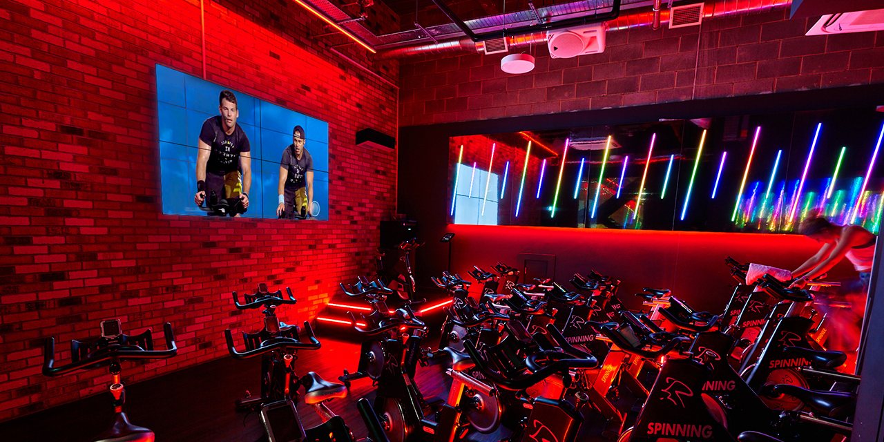 in-club/at-home indoor cycling experiences