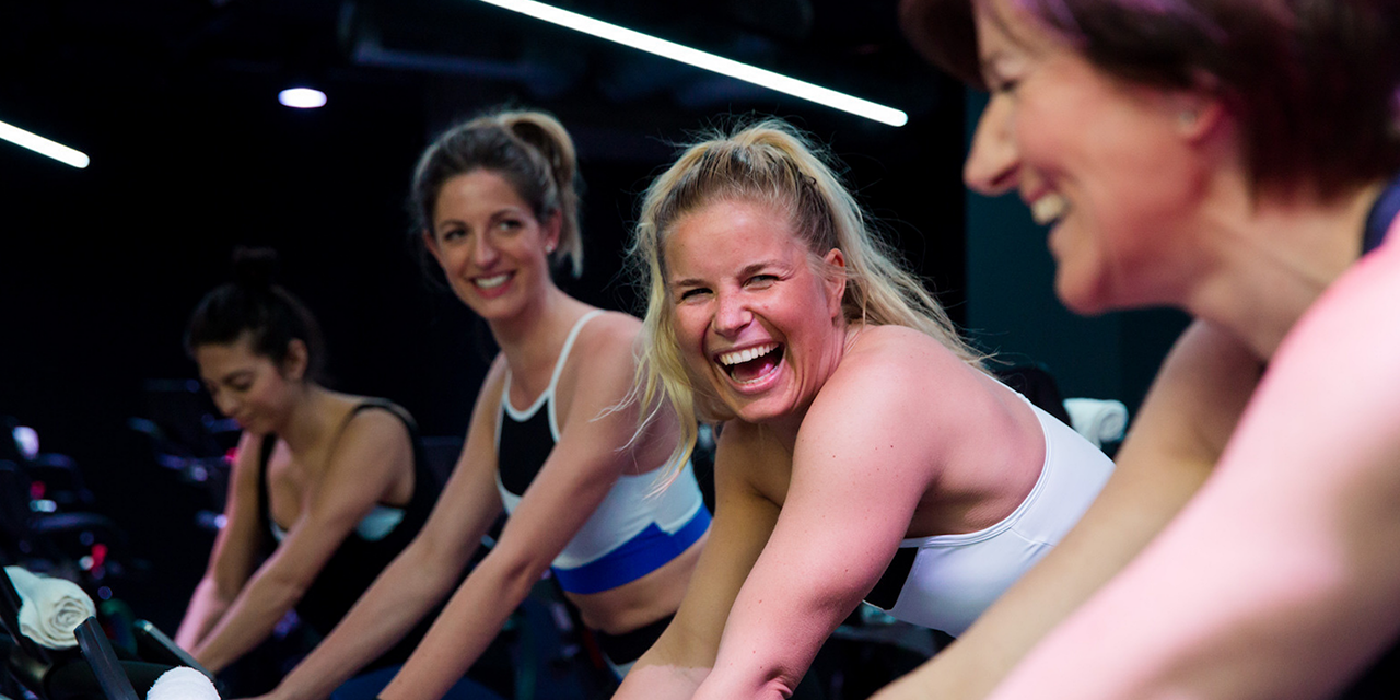Indoor cycling fun and healthy